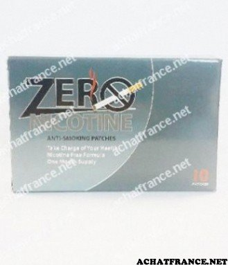 zero nicotine patch image